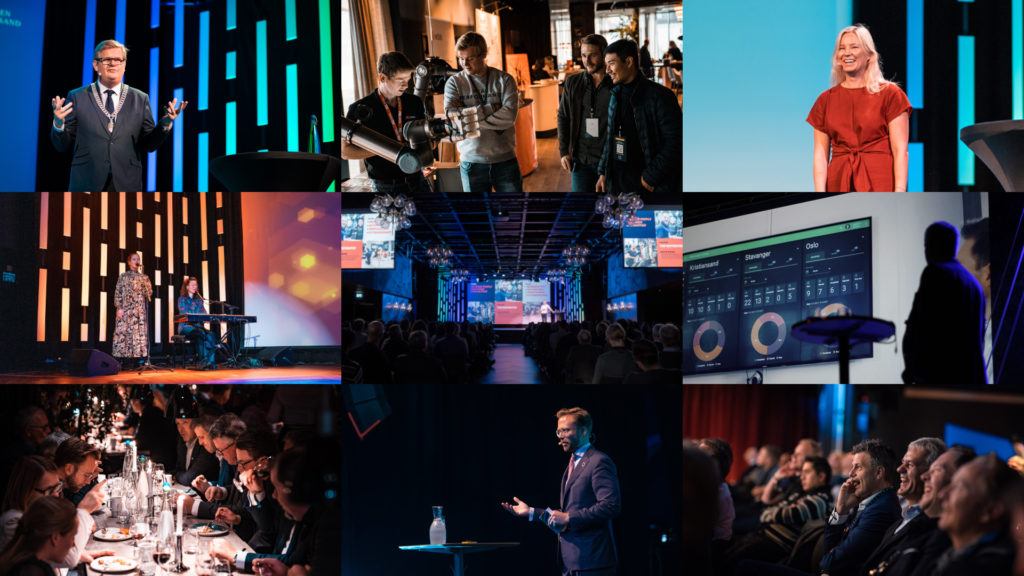 Collage med bilder Techpoint Conference