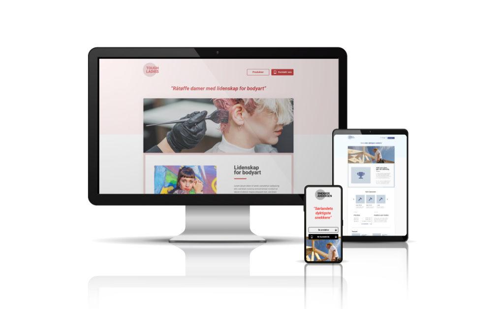Bestill ny nettside enkelt online